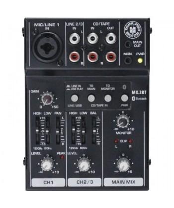 TOPP PRO MX3BT Mixer Audio...