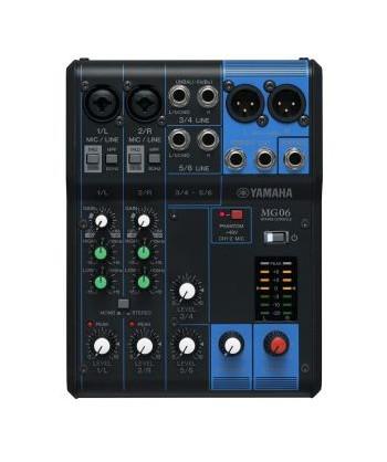 YAMAHA MG06, Mixer Audio NO...