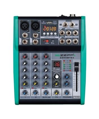 ZZIPP ZZMXBTE4, Mixer Audio...