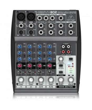 BEHRINGER XENYX 802 – Mixer...