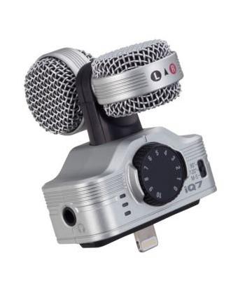 ZOOM IQ7, Microfono a...