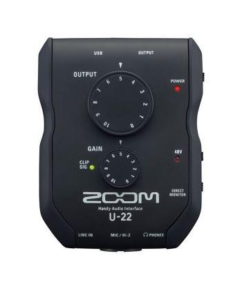 ZOOM U-22, Scheda Audio 24...