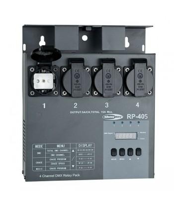 SHOWTEC RP-405 MKII, Relay...